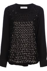 Thakoon Addition Sequin Blouse - Lyst