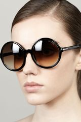 Tom Ford Carrie Oversized Sunglasses - Lyst