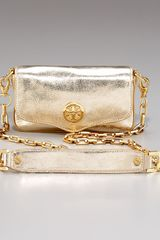 Tory Burch Vintage Metallic Bag Mini - Lyst