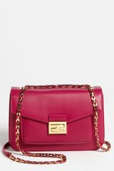 Fendi Be Leather Baguette - Lyst