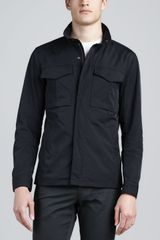 Theory Nylon Utility Jacket - Lyst