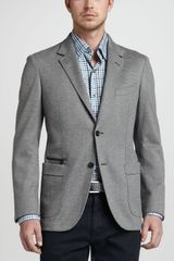 Ermenegildo Zegna Soft Melange Two-button Blazer - Lyst