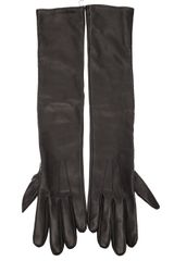Lanvin Long Gloves - Lyst