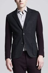Lanvin Single Breasted Jacket - Lyst
