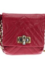 Lanvin Quilted Chain Shoulder Bag - Lyst