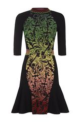 M Missoni Brocade Dress - Lyst
