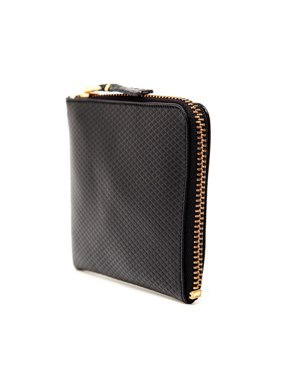 Lyst Comme Des Gar 231 Ons Pique Leather Card Wallet In