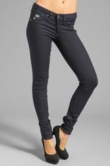 G-star Raw  Super Skinny in Tilex Black Superstretch  - Lyst