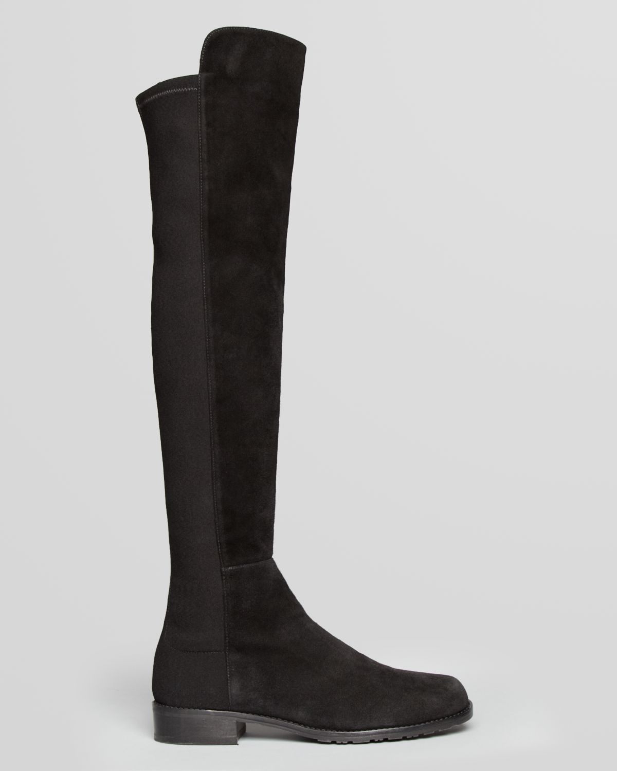 Stuart weitzman Over The Knee Boots - 5050 Stretch Suede in Black ...