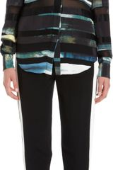 3.1 Phillip Lim Beaded Sequin Embellished Top - Lyst