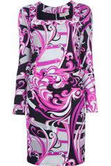 Emilio Pucci Singapore Dress - Lyst