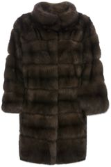 Hettabretz Sable Fur Coat - Lyst
