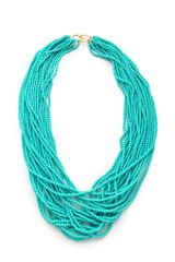 Kenneth Jay Lane Turquoise Necklace - Lyst