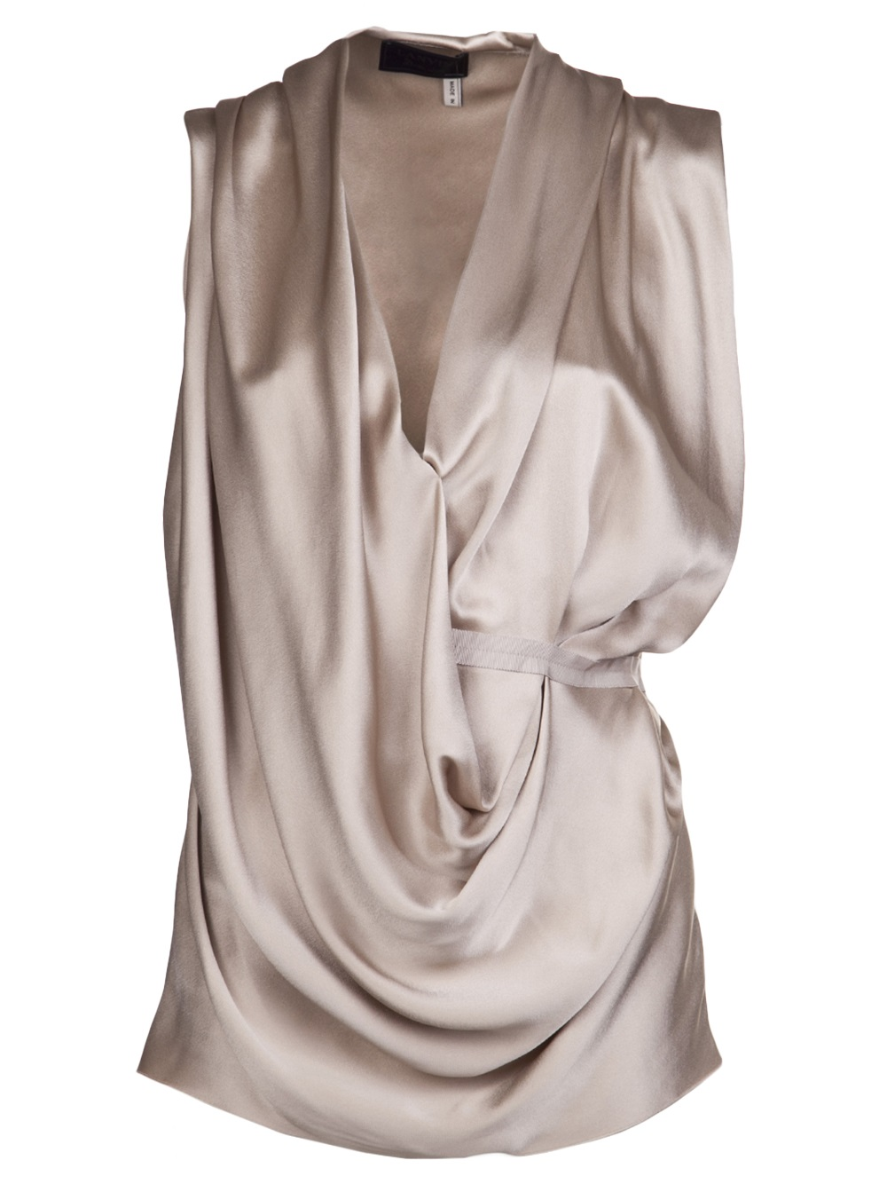 product drapes gallery island front normal lyst drape river clothing top cream natural in beige