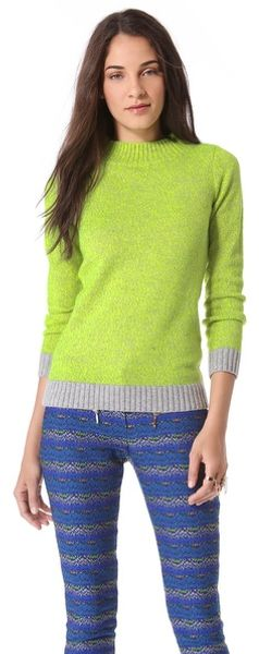 Matthew Williamson Marled Sweater - Lyst