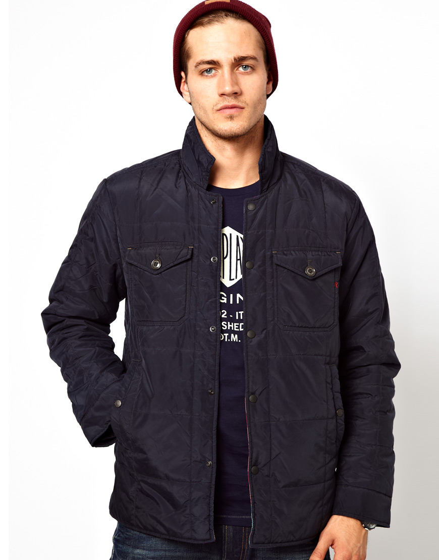 Mens quilted jacket next - Gallery