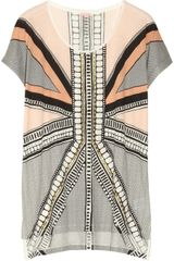 Sass & Bide Playing with Fire Embellished Cottonjersey Tshirt - Lyst
