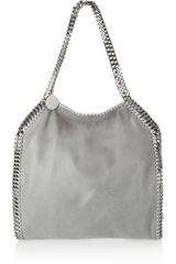 Stella McCartney The Falabella Faux Brushedleather Shoulder Bag - Lyst