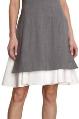 Thakoon Sleeveless V-neck Dress - Lyst