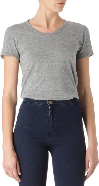 American Apparel Triblend T shirt - Lyst