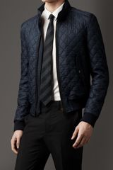 Burberry Military Quilted Blouson - Lyst