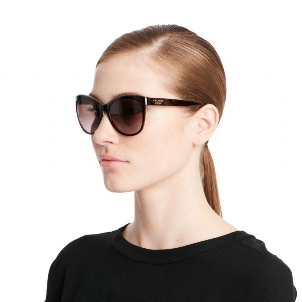 c623fa7dff1d ... discount code for lyst coach samantha sunglasses in blue fa3e4 469d3