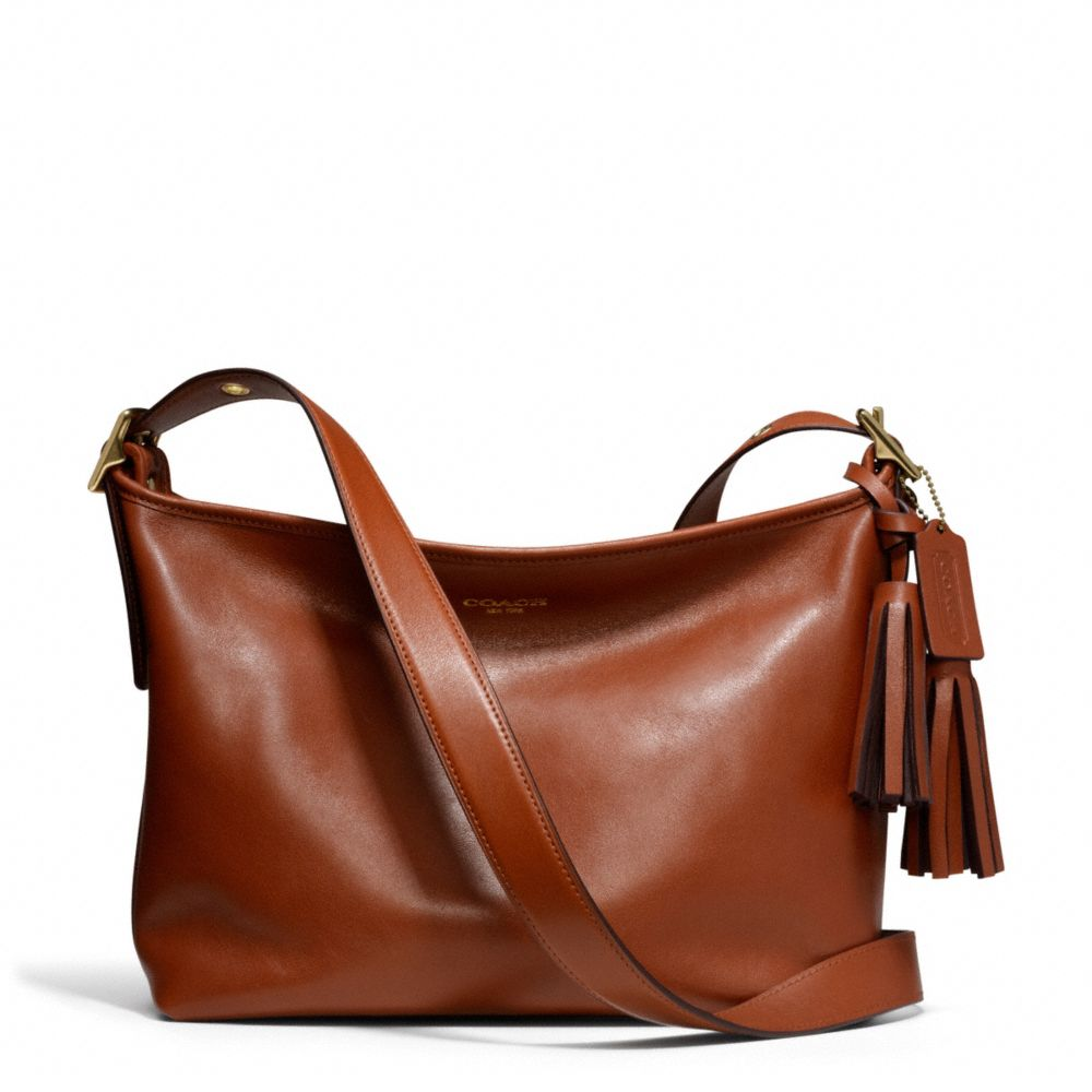 Lyst - COACH Legacy Eastwest Duffle in Leather in Brown d706ea256bfd9