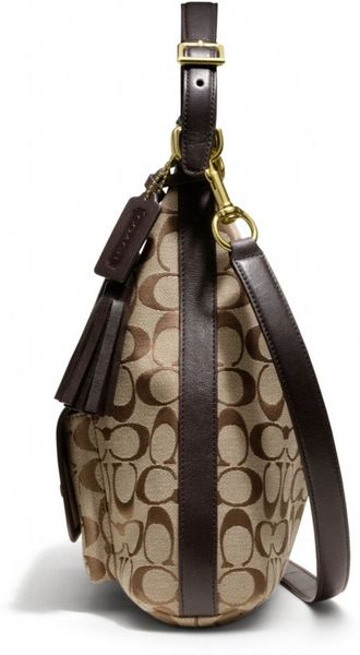 Legacy Courtenay Hobo Shoulder Bag In Signature Fabric 4