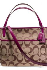 Coach Baby Bag Tote in Signature C Fabric - Lyst