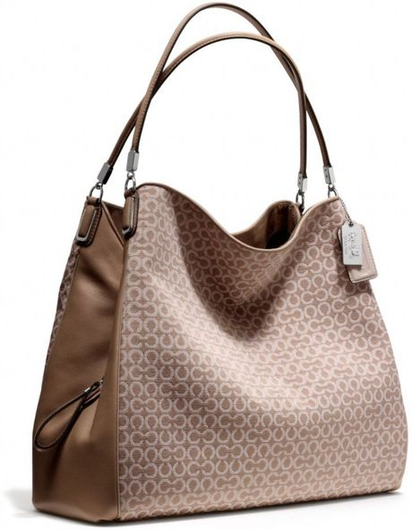 Coach Madison Op Art Needlepoint Small Phoebe Shoulder Bag 53