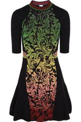 M Missoni Brocade Intarsia Waffleknit Dress - Lyst