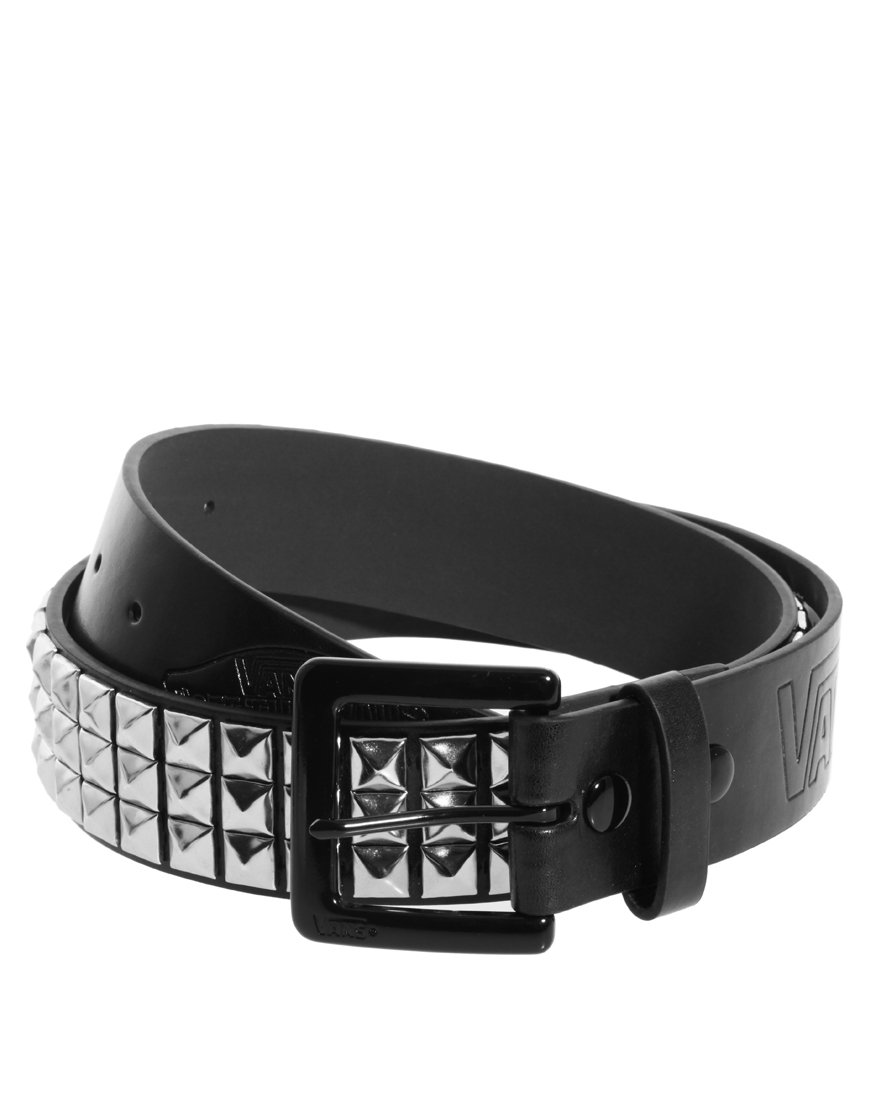 7a7324cf51dac8 Lyst - Vans Studded Belt in Black for Men