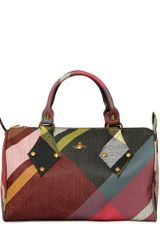 Vivienne Westwood Derby Coated Canvas Top Handle - Lyst