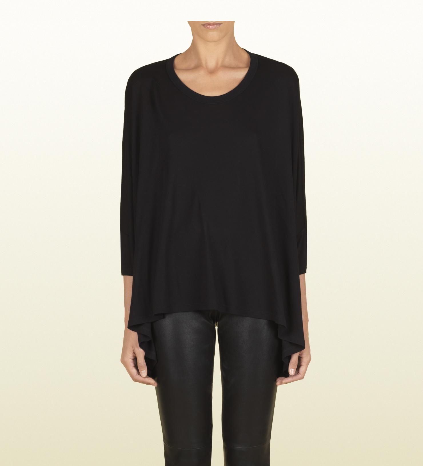 51708ff09497c Womens Gucci T Shirt Black