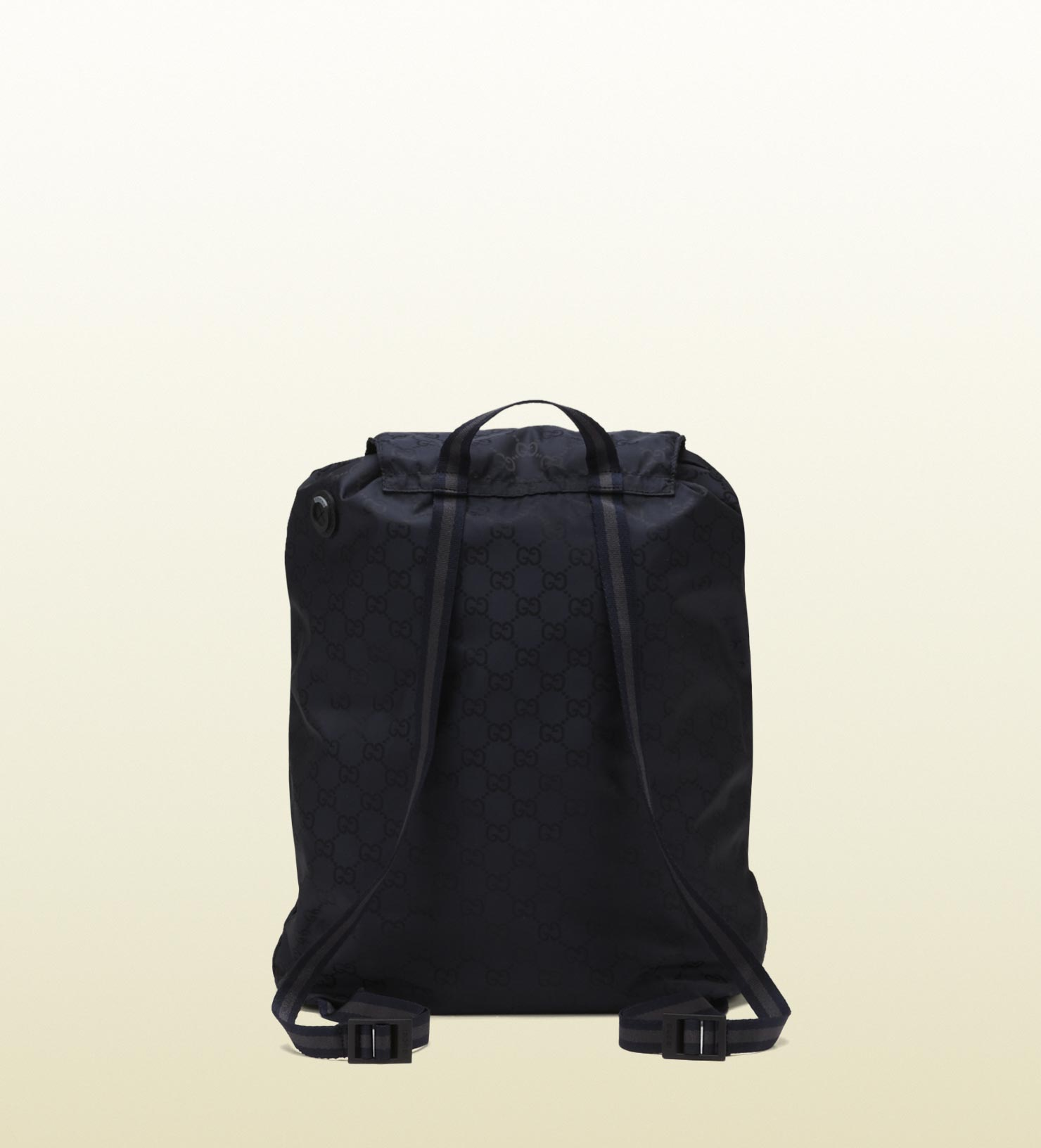 641891c227ad Lyst - Gucci Blue Gg Nylon Backpack From Viaggio Collection in Blue ...