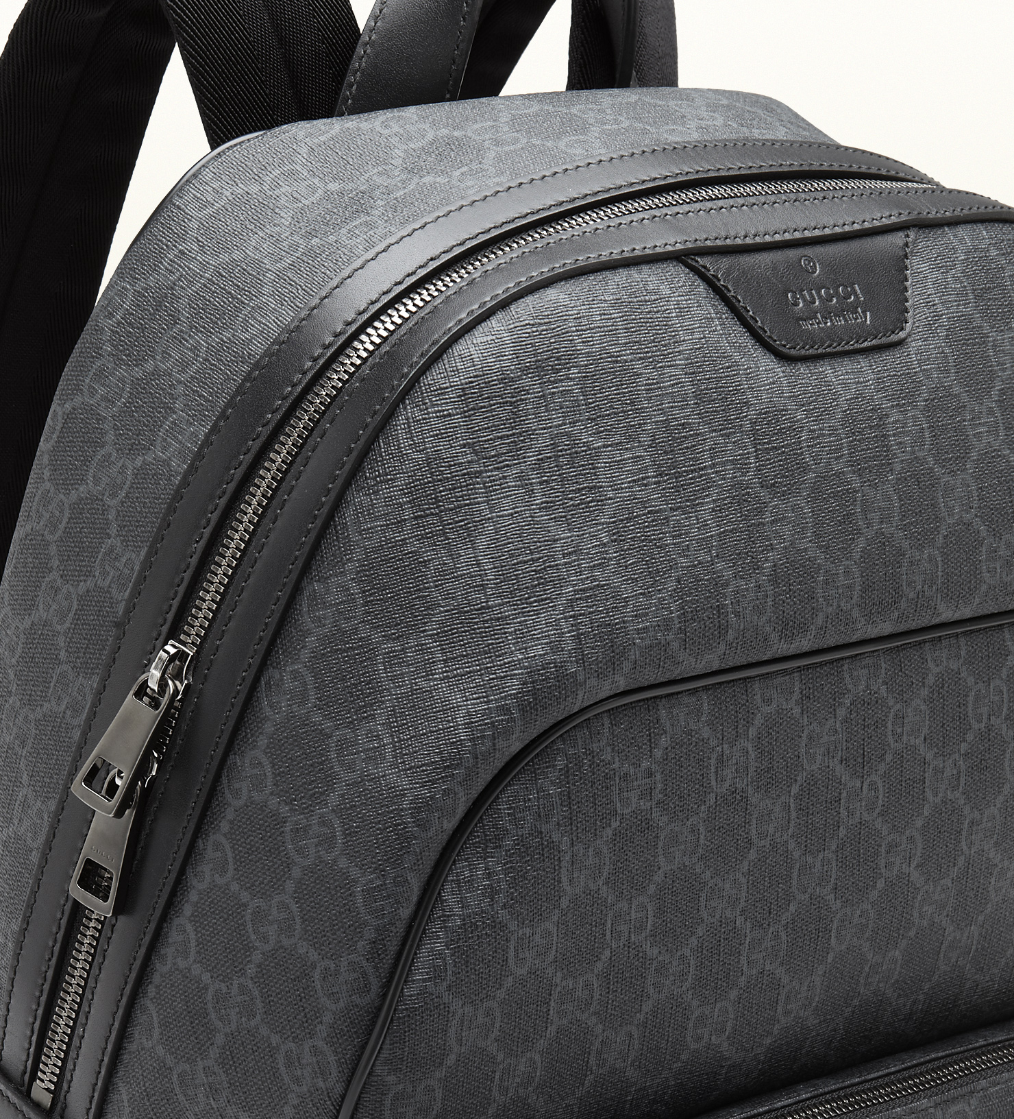 e0560441b8a Lyst - Gucci Gg Supreme Canvas Backpack in Gray for Men