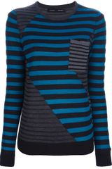 Proenza Schouler Striped Sweater - Lyst