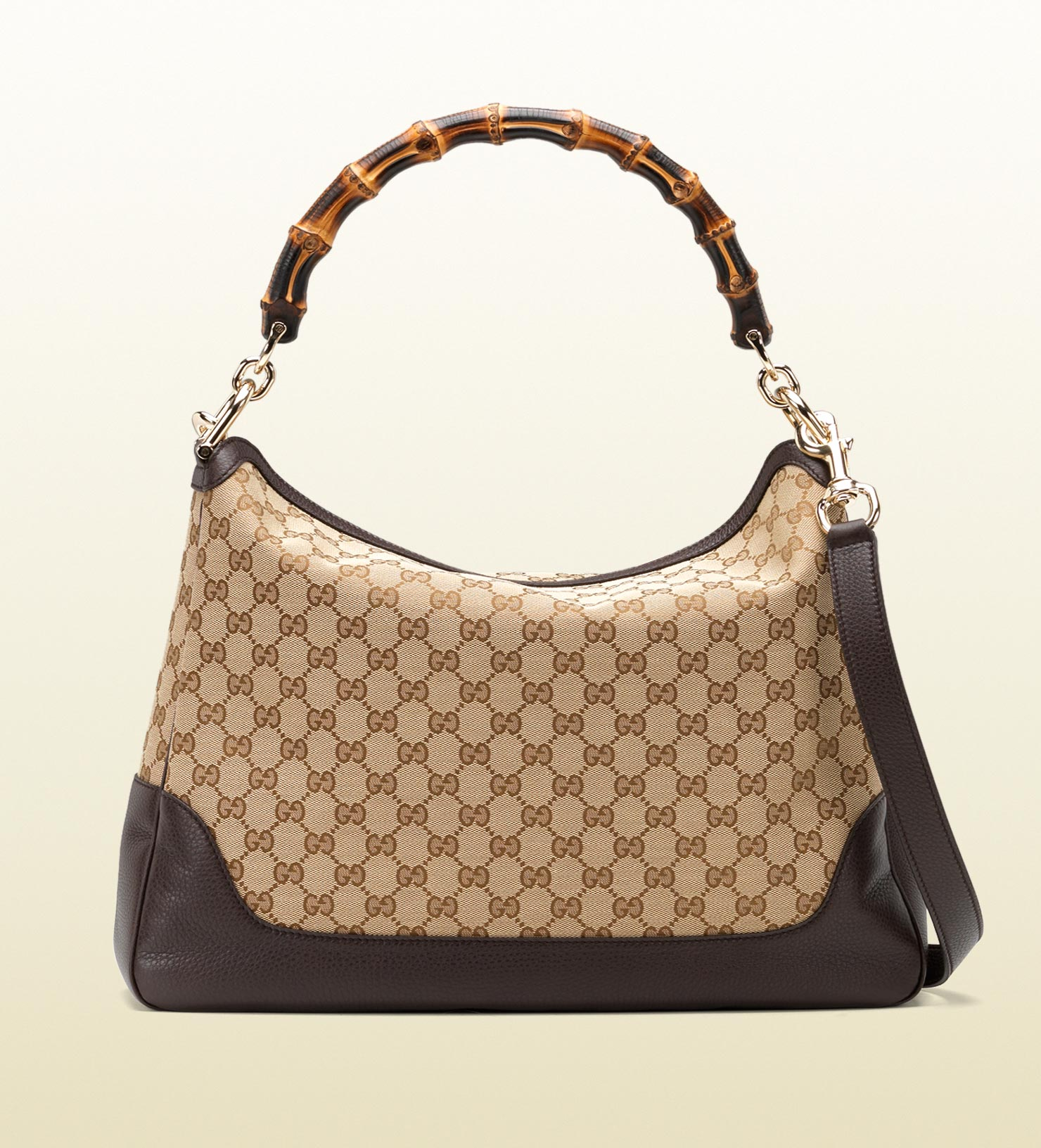 Lyst - Gucci Diana Bamboo Handle Shoulder Bag in Brown