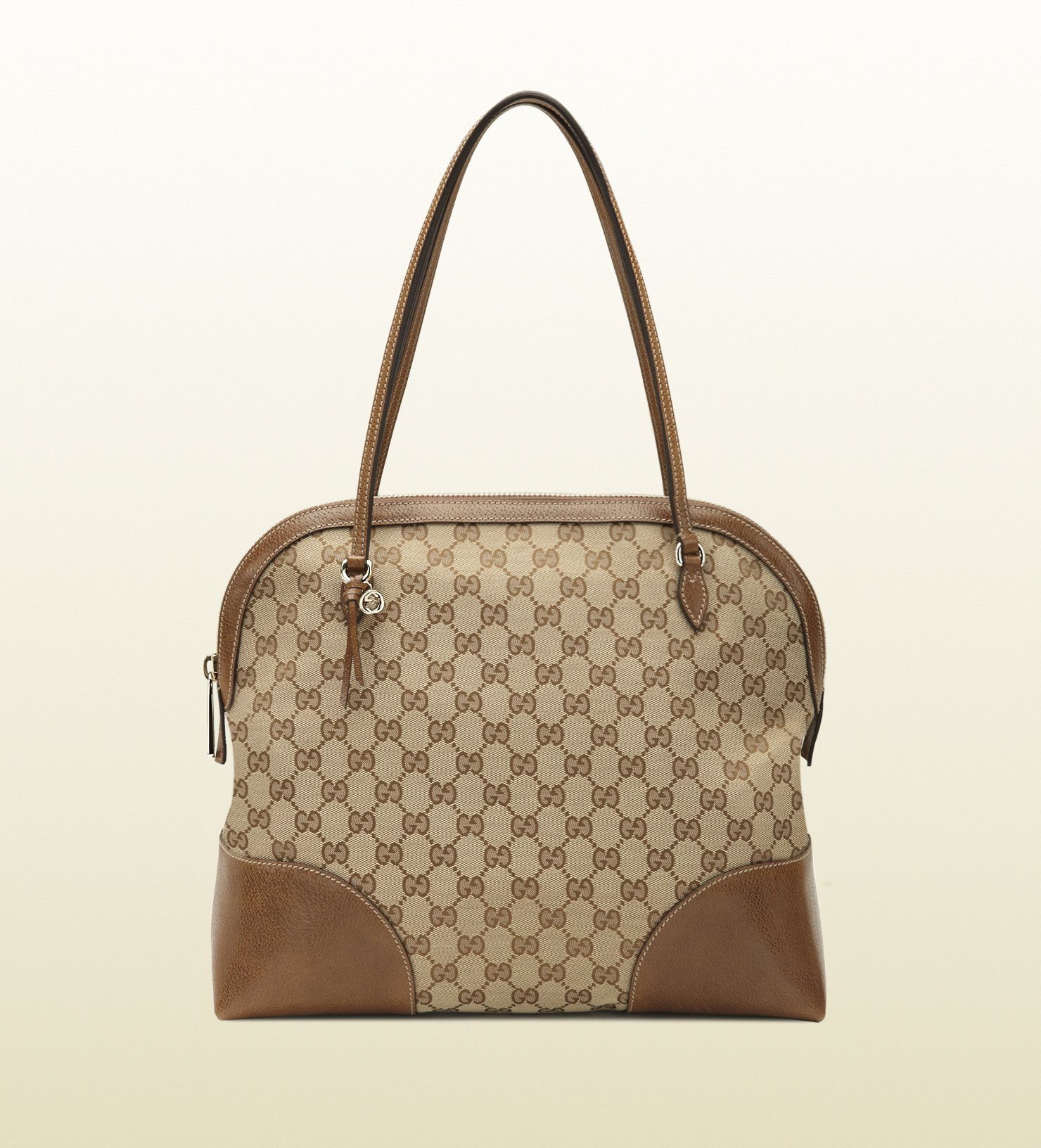 775b73f7153fd0 Gucci Bree Original Gg Canvas Shoulder Bag in Brown - Lyst
