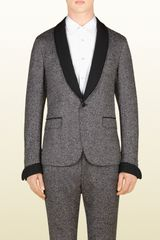 Gucci Black and White Duke Evening Jacket - Lyst