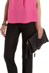 Prabal Gurung Fold Over Front Blouse - Lyst