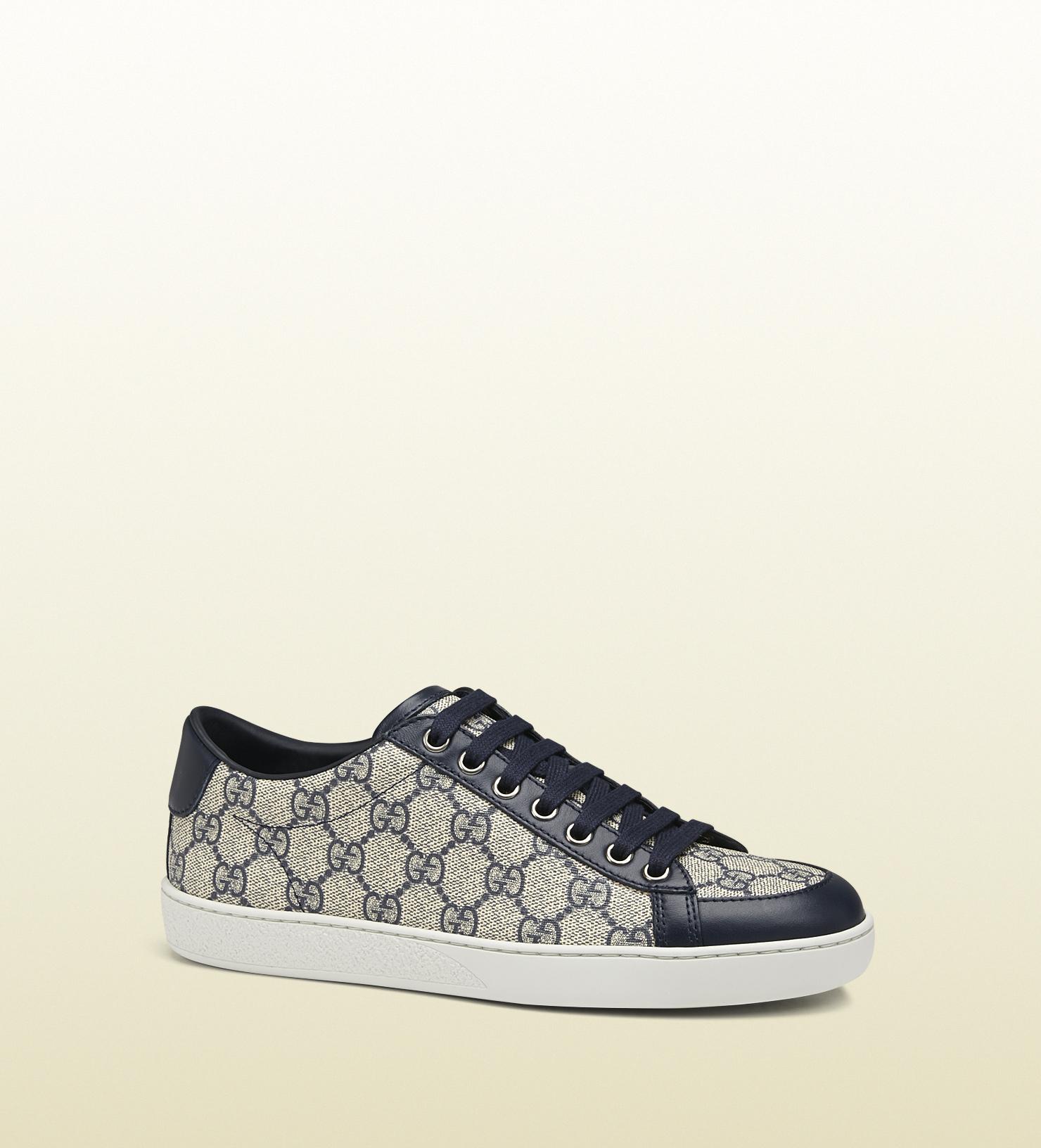 c20bf29c95f Gucci Brooklyn Gg Supreme Canvas Sneaker in Black for Men - Lyst