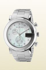 Gucci Gchrono Collection Watch with Diamonds - Lyst