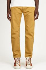 Levi's Vintage Clothing Mens Mustard 519 Bedford Trousers - Lyst