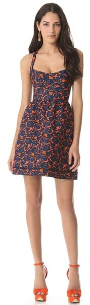 Cynthia Rowley Bonded Party Dress - Lyst