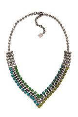 Dannijo Hallie Necklace - Lyst