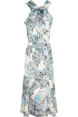 Erdem Romilly Printed Stretchjersey Dress - Lyst