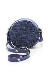 M Missoni Studded Woven Cross Body Bag - Lyst