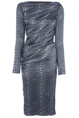 Thomas Wylde Tethered Dress - Lyst