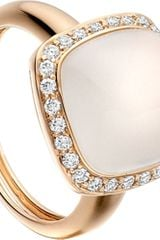 Astley Clarke 18ct Rose Gold Moonstone Ring - Lyst